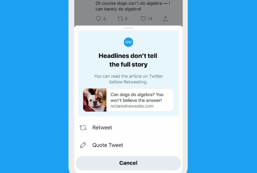 ทวิตเตอร์สร้างฟีเจอร์เพิ่มขึ้นเพื่อกัน ข่าวปลอม
